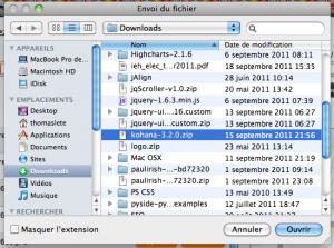 Fichiers de votre ordinateur