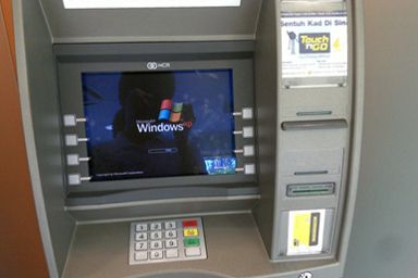 Distributeur de billet sous Windows XP